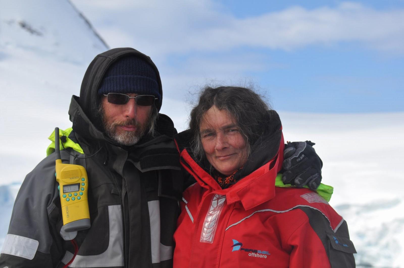 Heinz et Greet Antarctique