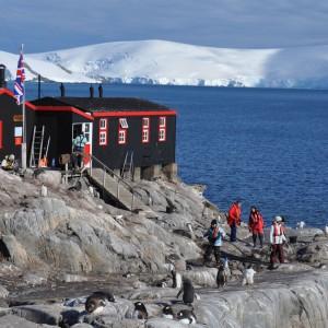 overzicht port lockroy antarctica