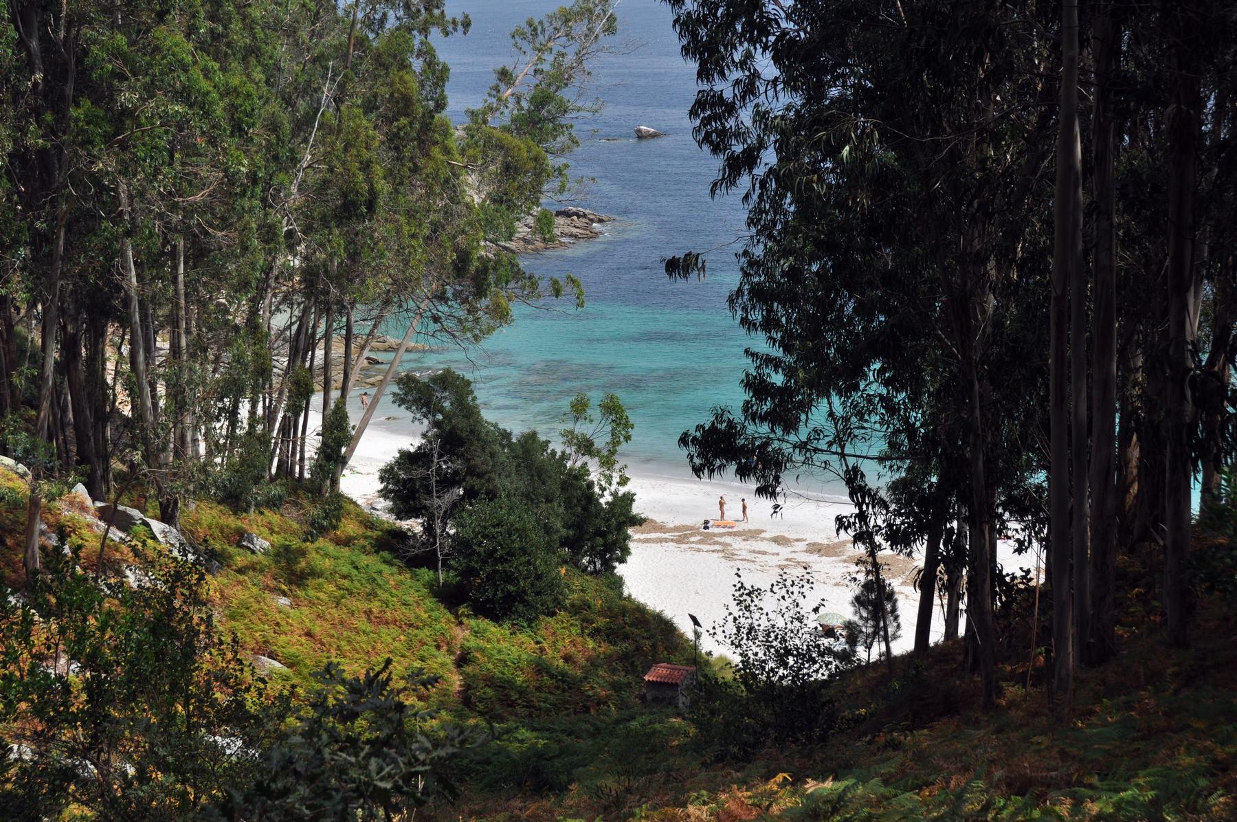 L'Îles de Cies voiler avec l'Anne-Margaretha