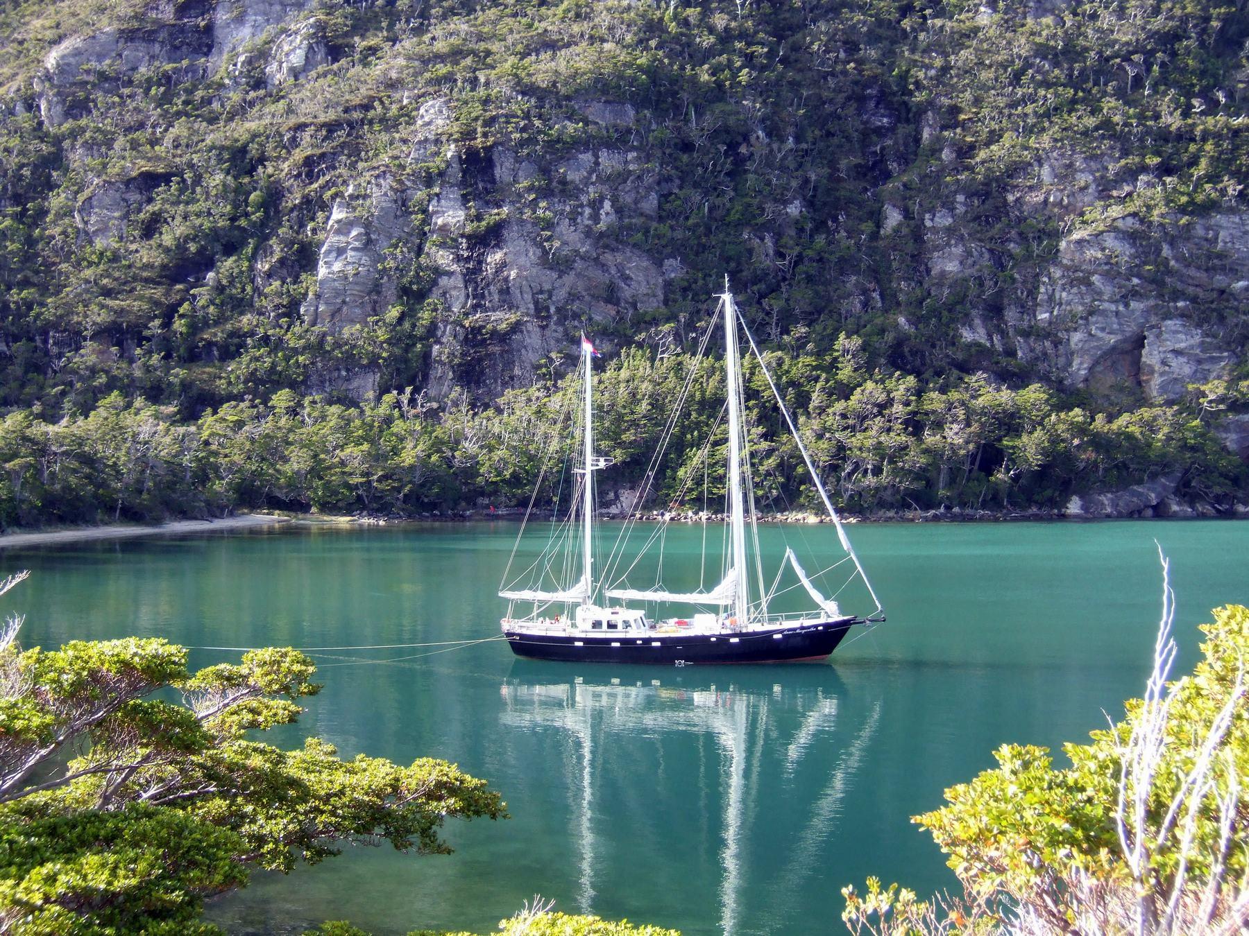 Patagonie expédition en voilier avec Anne-Margaretha