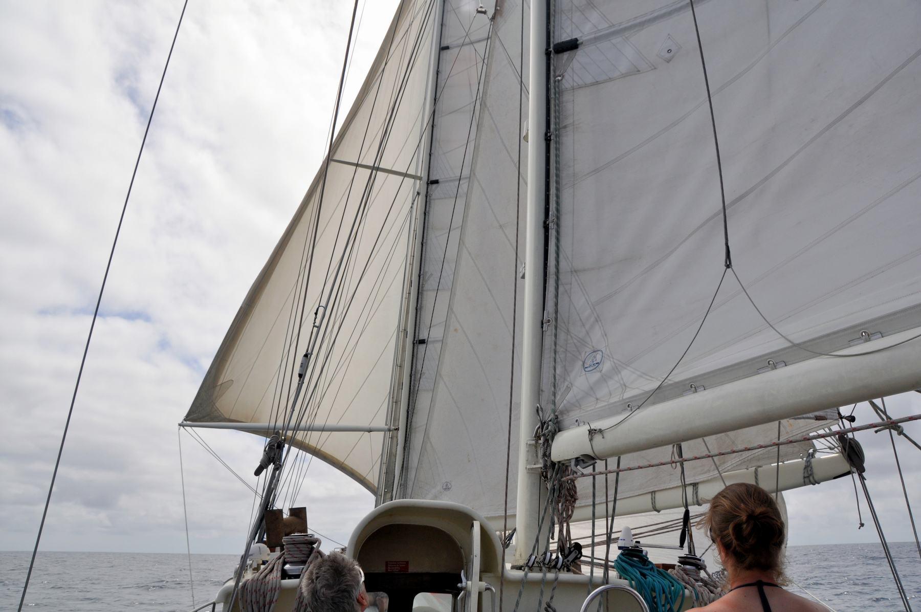 Voile sur l'océan avec Anne-Margaretha